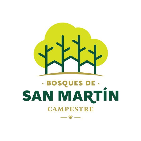 Logotipo para urbanización campestre San Martín en Santander de Quilichao