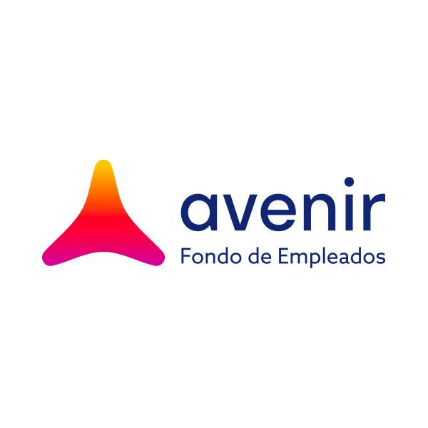 logotipo avenir fondo de empleados hecho por velove branding studio