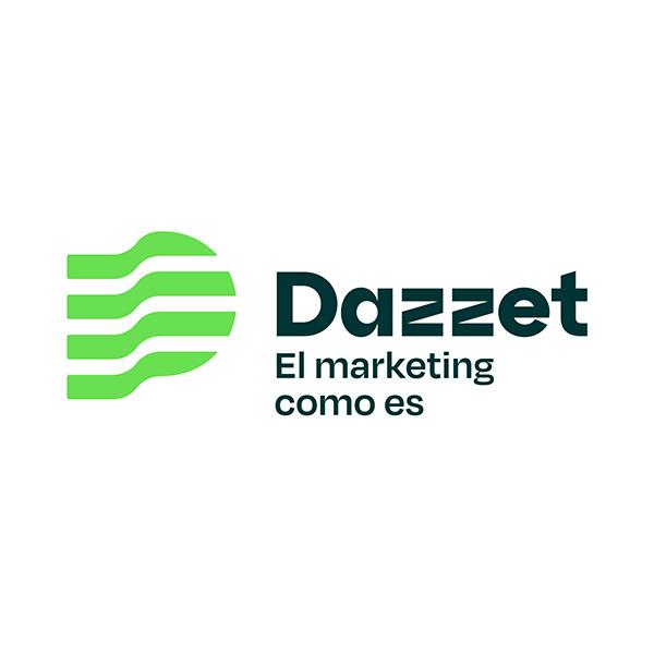 logotipo dazzet hecho por velove branding studio